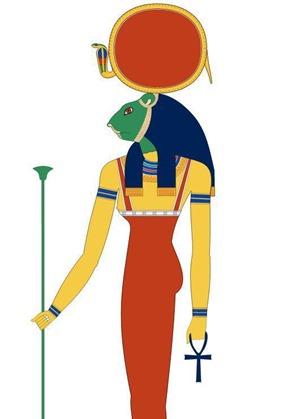 Os arqueólogos descobrem o antigo templo egípcio com dezenas de deusas de guerra chefiadas por leões 07