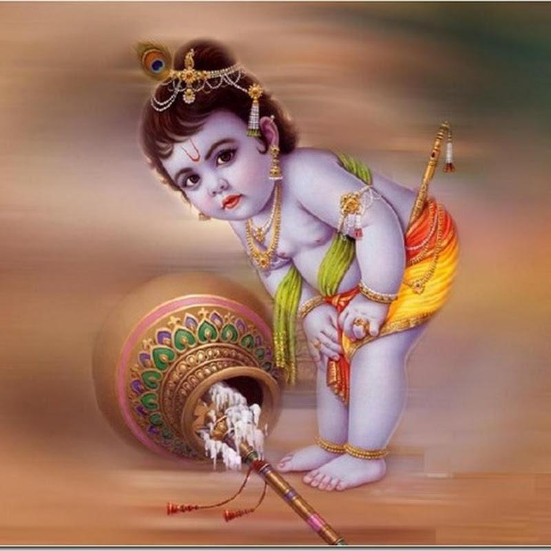 imágenes  del Dios hindú Shri Krishna