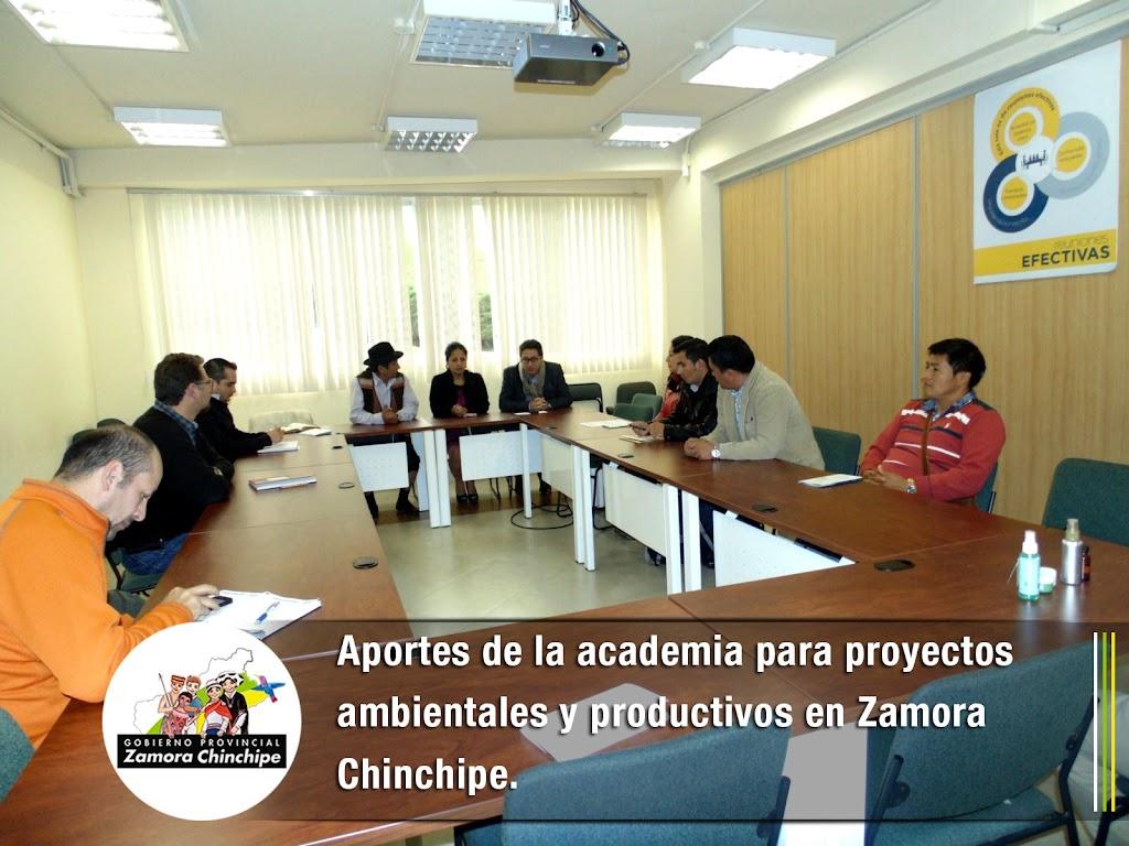 APORTES DE LA ACADEMIA PARA PROYECTOS AMBIENTALES Y PRODUCTIVOS EN ZAMORA CHINCHIPE