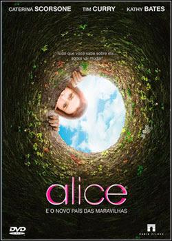 5 Alice e o Novo País das Maravilhas   DVDrip   Dual Áudio