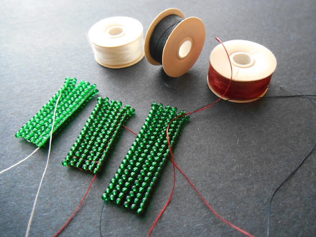 Comparing Nymo Beading Thread