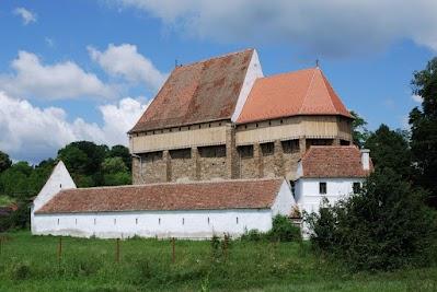 Kirchenburg in Bradeni