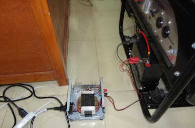 Battery Tester on Testing