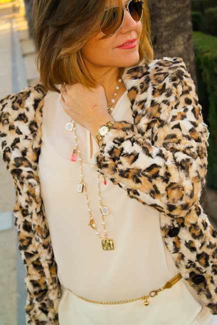 Ideas para combinar print de leopardo