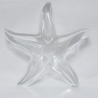 Baccarat Crystal Starfish