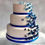 Royal blue butterfly wedding cake 1.jpg