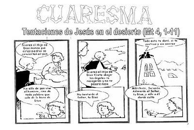 Evangelio del domingo 13-03-11. 1 Cuaresma (A). Reflexión