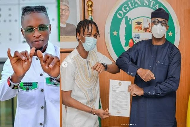 Gov. Abiodun Appoints Bbnaija Winner Laycon As Ogun State Youth Ambassador -A GOOD ONE or A MISPLACED PRIORITY?