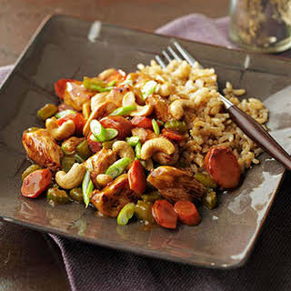 Chicken Honey Nut Stir-Fry.