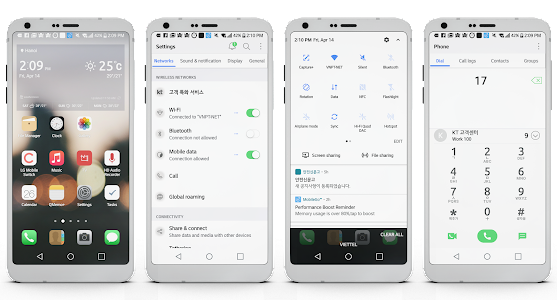 MIOS Theme for LG G6 V20 & G5 2 0 APK for Android