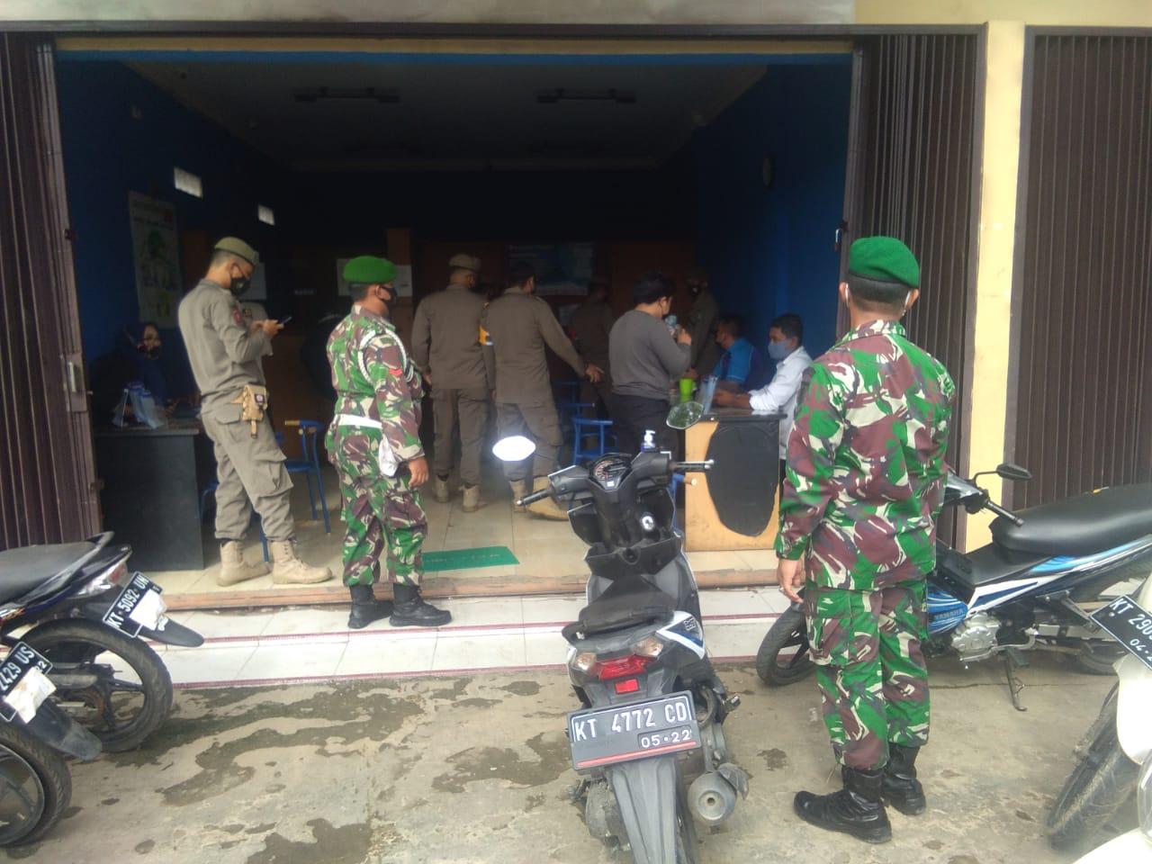 Kodam VI/Mlw, Satgas Gabungan Gelar Operasi penegakan Disiplin Prokes di Kukar