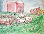 Farm Painting by Brandon