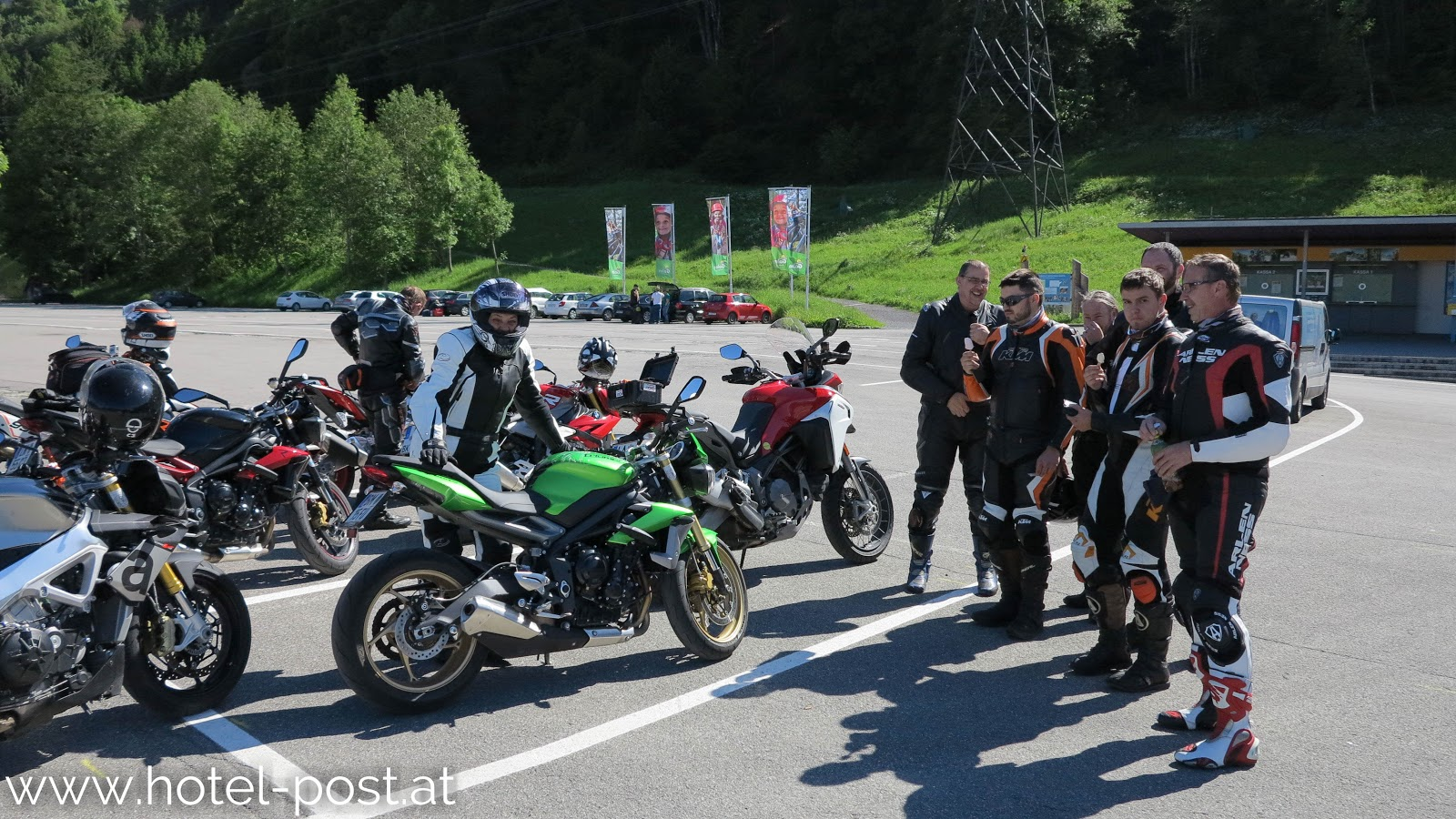 10.06.2016 Postwirt geführte Motorradtour
