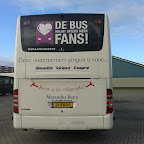 evo demo bus nu even bij South West tours