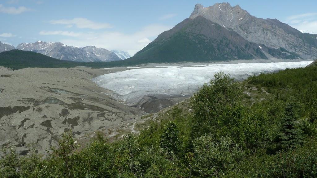 root glacier terminus