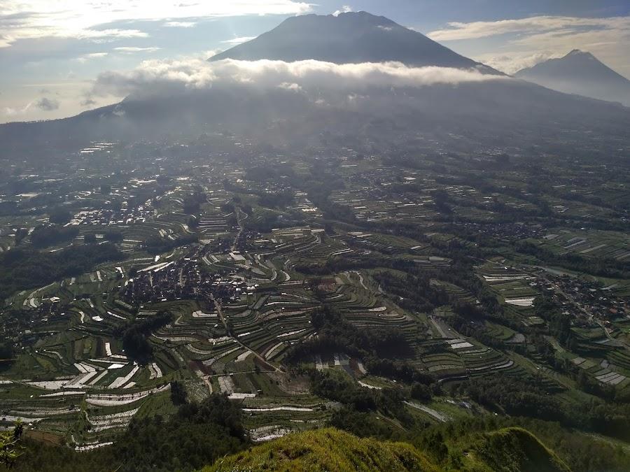 Pemandangan dari Gunung Andong