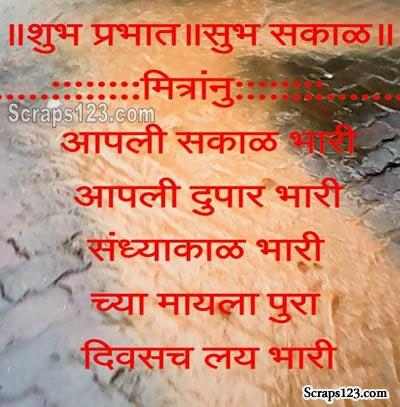 Sabhi mitro ko Good Morning