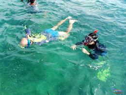family trip pulau pari 140716 Fuji 088