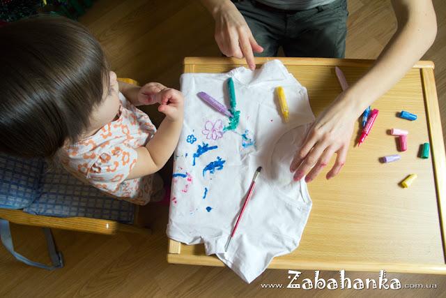 Розмальовування футболки