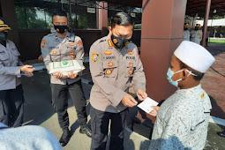 Akpol 91 Bhara Daksa Gelar Baksos pada Masyarakat Terdampak Pandemi Covid-19