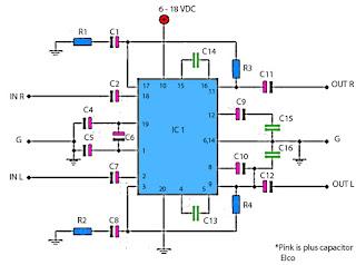 TA power amplifier