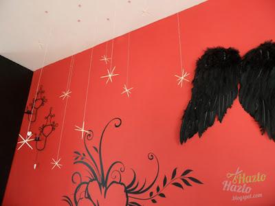 Cómo decorar el techo para Navidad.