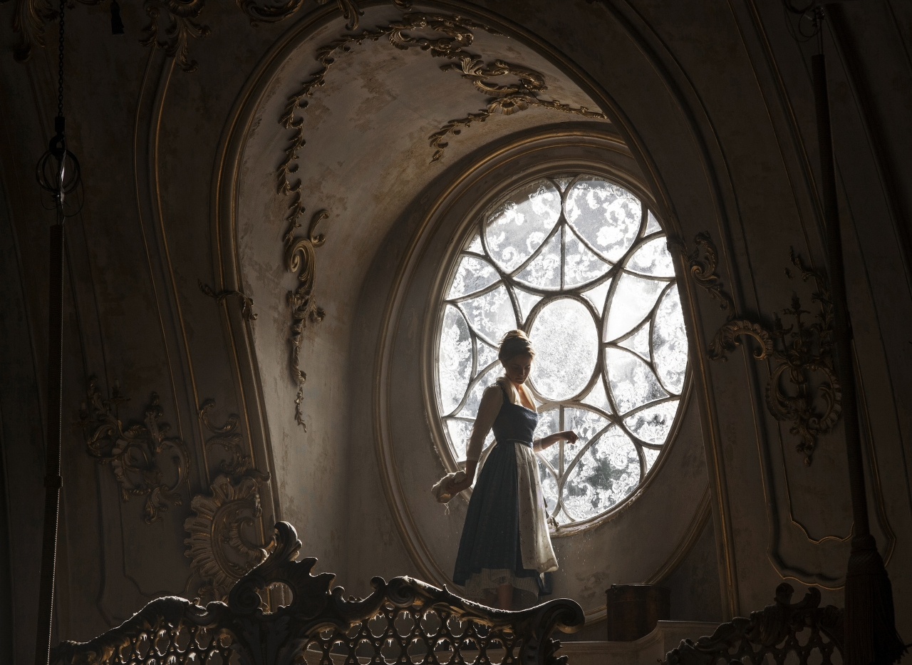 Emma Watson stars as Belle in BEAUTY AND THE BEAST. (Photo by Laurie Sparham / courtesy of Disney).