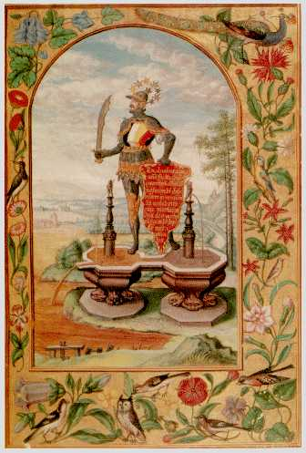 The Knight On The Double Fountain From Splendor Solis, Hermetic Emblems From Manuscripts 1