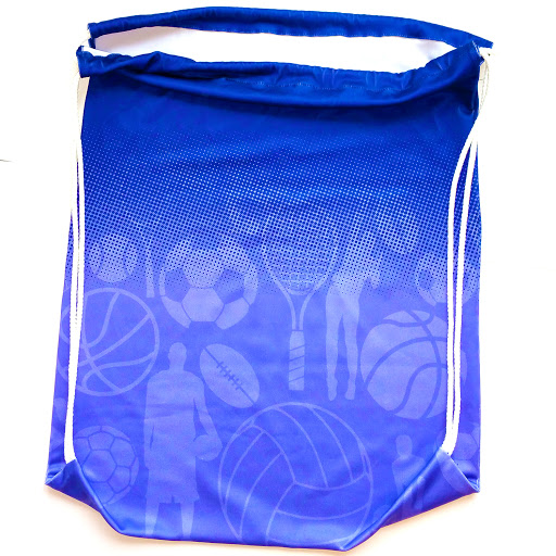 Stretchy Spandex Gym bags printed full colour