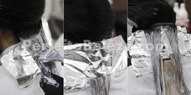 como descolorir o cabelo com o papel