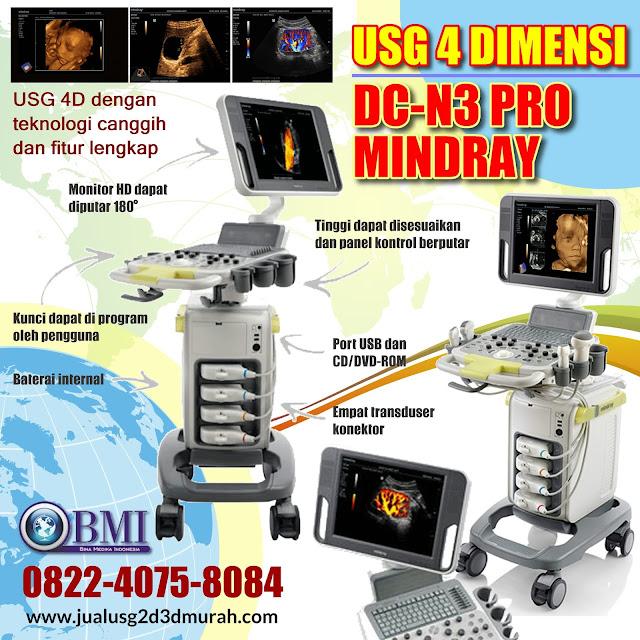 USG 4 Dimensi DC-N3 Pro Mindray