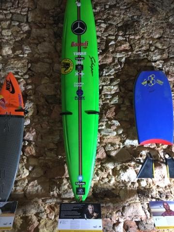 planche surf, Nazare, legend