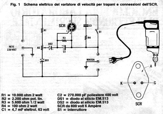 Schema Elettrico Motore Trifase 2 Velocità : Grix forum alimentatore per motore cc v a su