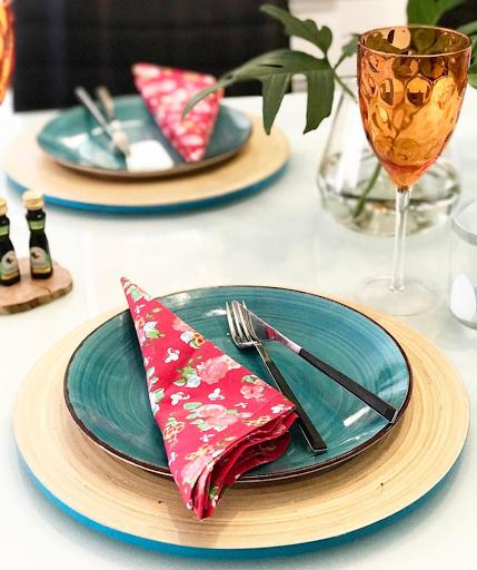 mesa posta lardocecasa colorida almoço