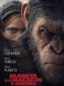 Capa Planeta dos Macacos: A Guerra (2017) Dublado