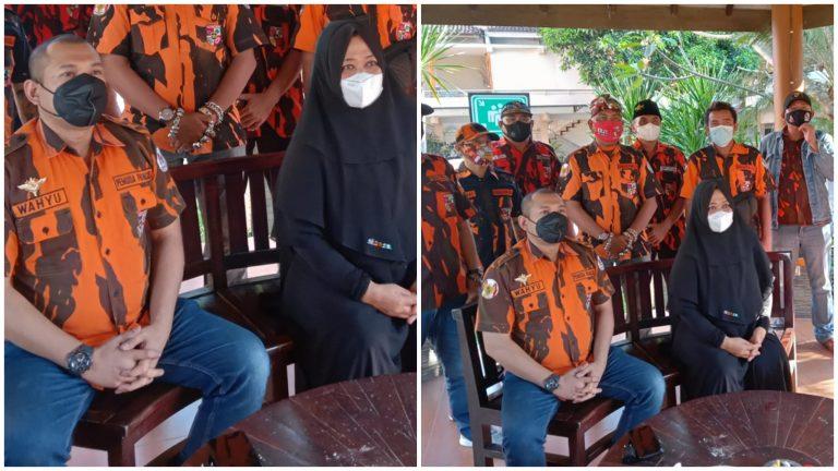 Pemuda Pancasila Kabupaten Blitar Mengamankan Pendopo Agung Ronggo Hadinegoro