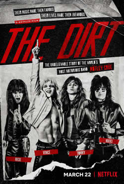 Baixar Filme The Dirt: Confissões do Mötley Crüe (2019) Torrent Dublado - WEB-DL 720p e 1080p
