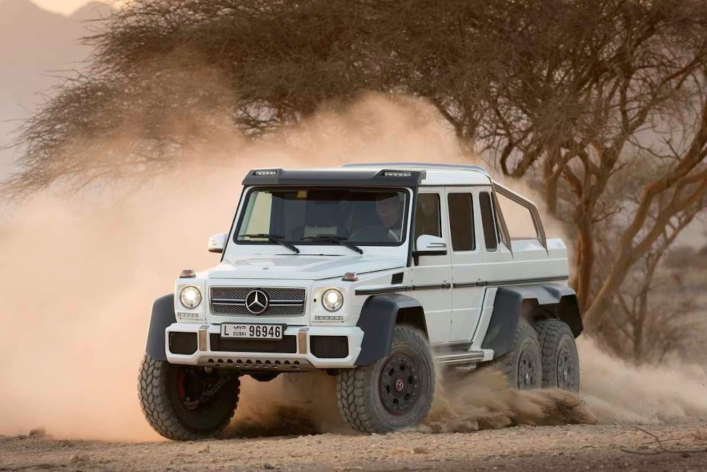 Mercedes-Benz G63 AMG 6x6 37