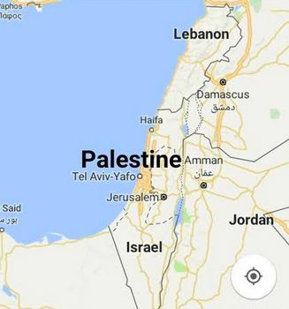 Benarkah Palestina Dihapus Dari Geogle Maps ?