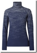 Nike stretch knit baselayer turtle neck top