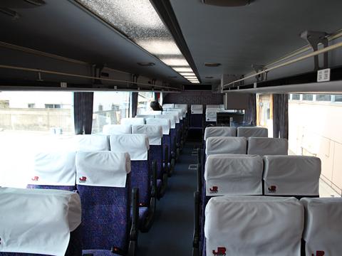 JR九州バス「パシフィックライナー」 8656 車内