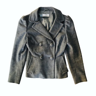 Prada Gray Wool Jacket