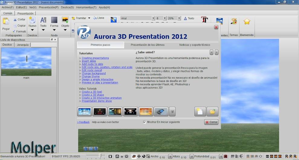 Aurora+3D+Presentation+2012 1 Aurora 3d presentation 2012 v12.06.08 [full] [espaÑol]