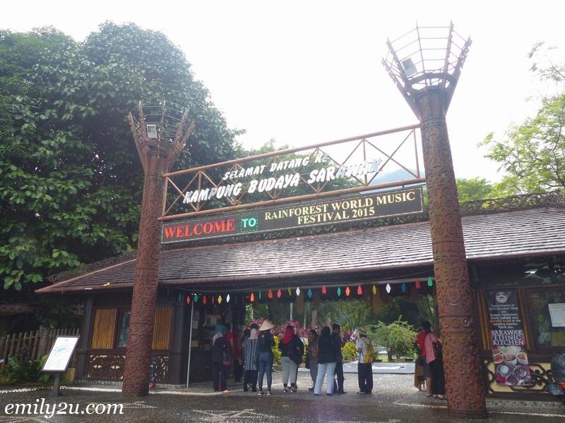 Sarawak Cultural Village, Pantai Damai, Santubong, Kuching