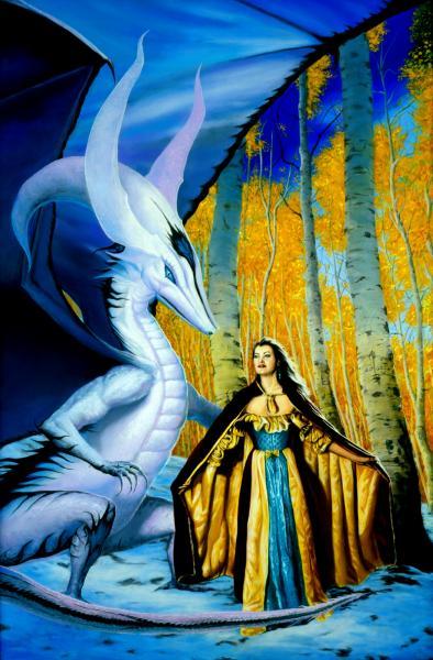 Dragon Fantasy Art Large, Dragons