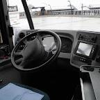 Het dashboard van de vdl ambassador van Connexxion bus T 4269 met lijn 999 NS vervoer