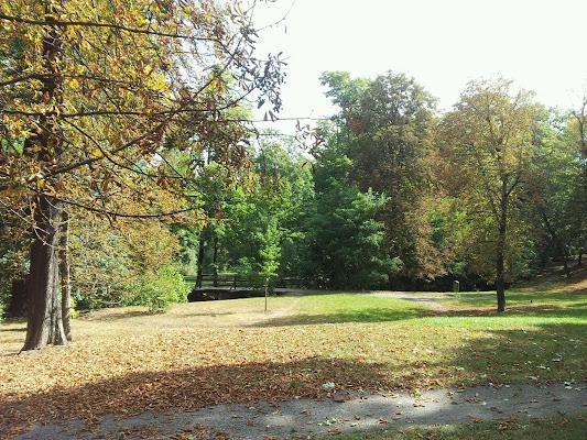 Zámecký park Dolní Počernice, Czech Republic