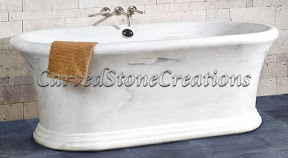 Bath, Bath Tub, Bathtub, Ideas, Interior, Kitchen & Bath, Marble, Natural, Stone, Tubs