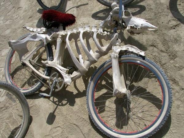 Skeleton Bike