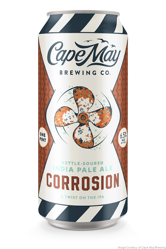 Cape May Brewing Releases Corrosion Sour IPA 16oz Cans